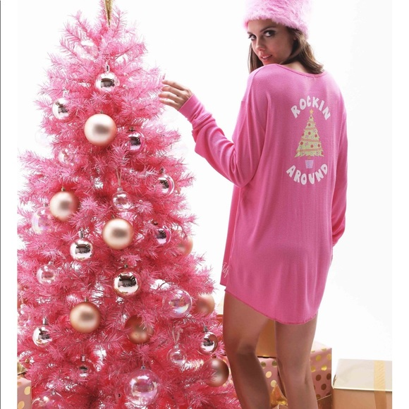 Wildfox Christmas Pajamas.Nwt Wildfox Rockin Around Sleep Top Sz L T13 Nwt